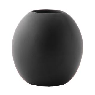 MANGO WOOD VASE BLACK SP175
