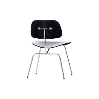 DCM 47 EN /PLYWOOD DINING CHAIR METALLEG EBONY