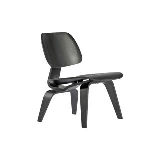 LCW EN/PLYWOOD LOUNGE CHAIR WOODLEG EBONY