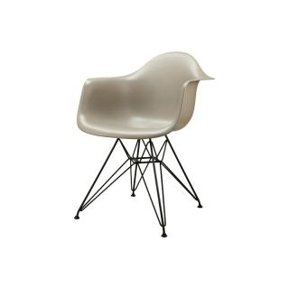 DAR SHELL CHAIR SPARROW/BLACK LEG