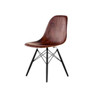 DWSW.BK EN 9N MOLDED WOOD CHAIR S.PARISANDER/EBONY