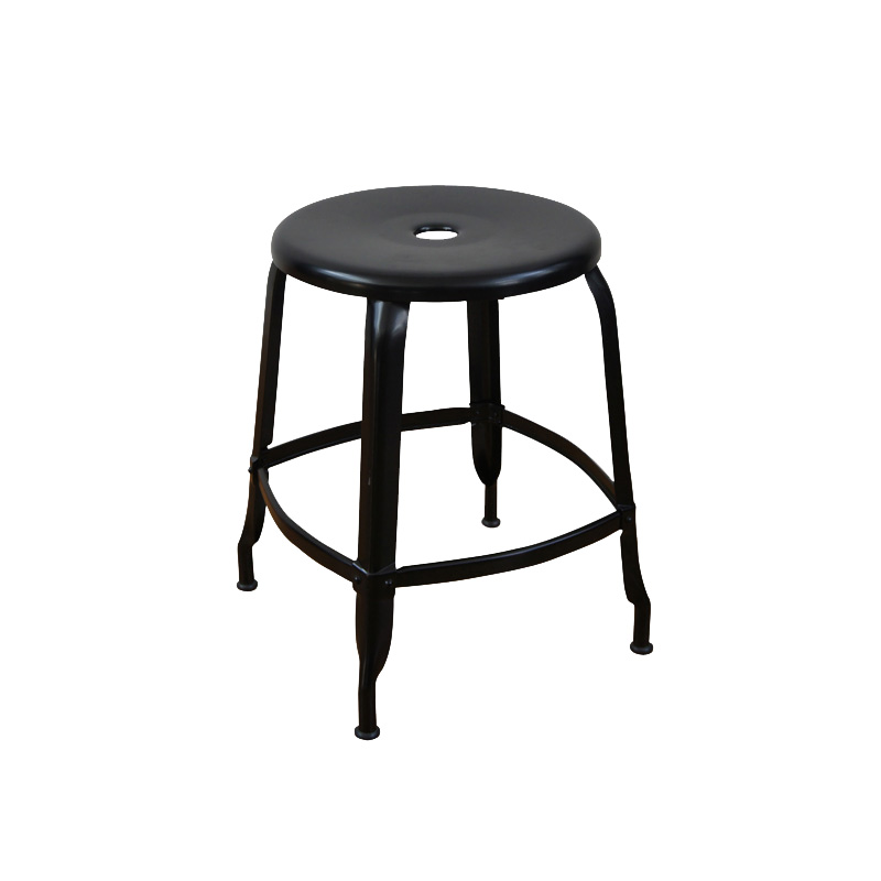 NICOLLE STOOL 45 BLACK