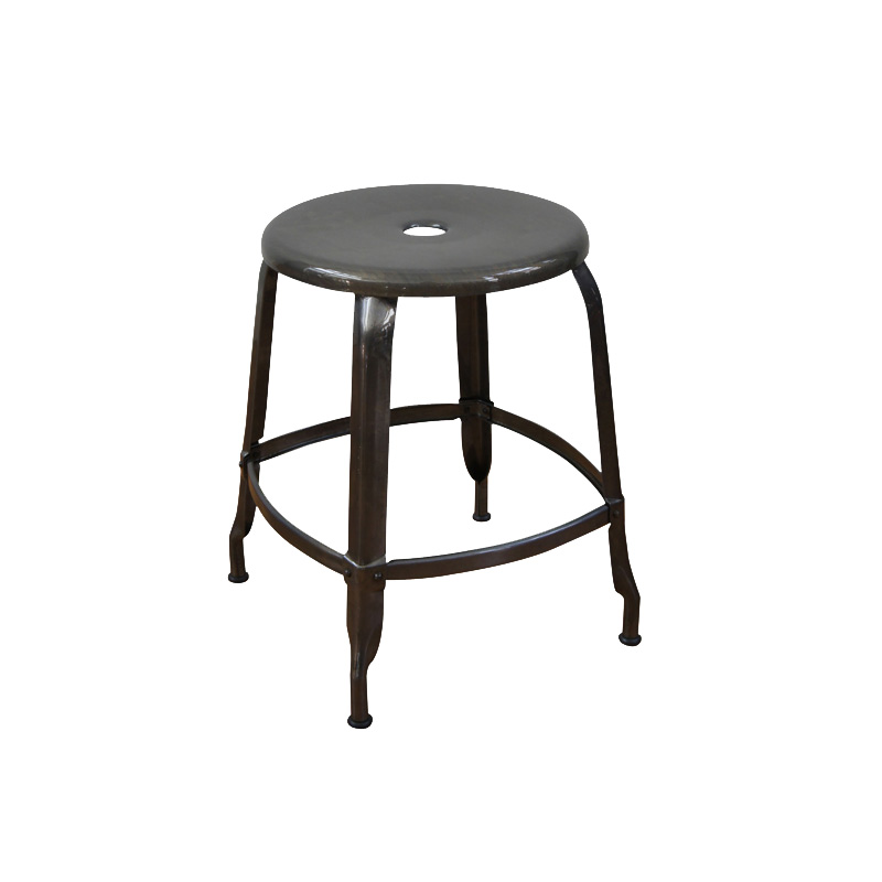 NICOLLE STOOL 45 CLEAR