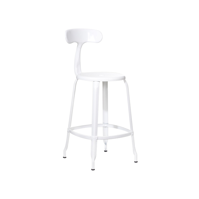 NICOLLE CHAIR 75 WHITE