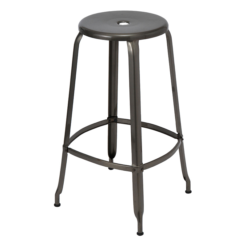 NICOLLE STOOL 75 CLEAR