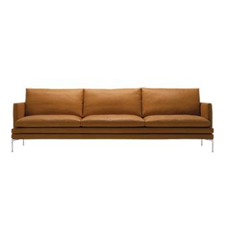 WILLIAM SOFA 266CM LEATHER 99