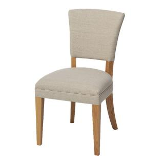 MONTERREY SIDE CHAIR FLAX LINEN