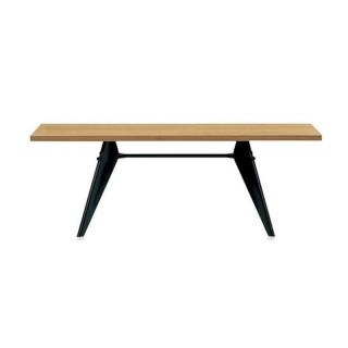 EM TABLE L1800 NATURAL SOLID OAK