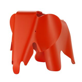 EAMES ELEPHANT SMALL POPPY RED