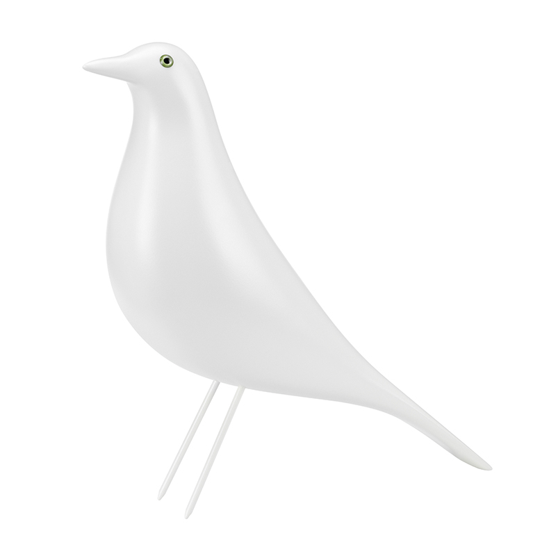 EAMES HOUSE BIRD WHITE LIMITED EDITION
