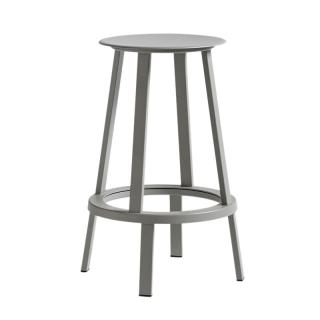 WRONG FOR HAY REVOLVER STOOL H65 GREY