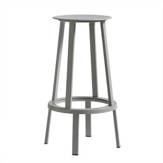 WRONG FOR HAY REVOLVER STOOL H76 GREY