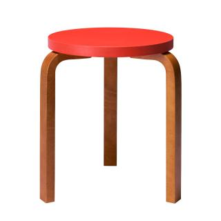 ARTEK STOOL 60 ORANGE/HONEY