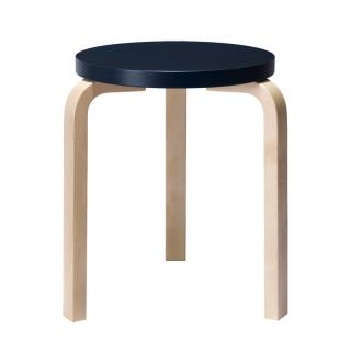 ARTEK STOOL 60 DARK BLUE/BIRCH