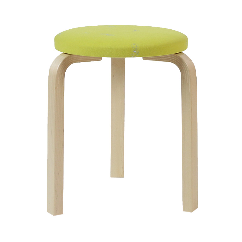 STOOL60 YELLOW(if1032)/NATURAL