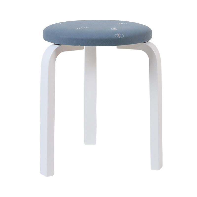 STOOL60 LIGHT BLUE(if1040)/WHITE