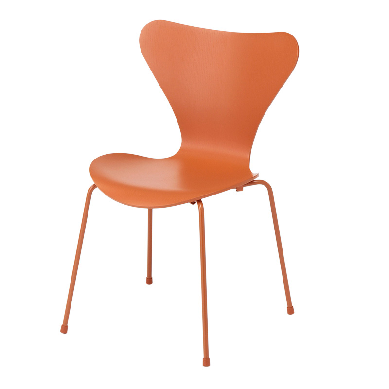 SERIES 7 CHAIR COLOURED ASH CHEVALIER ORANGE MONOCHROME