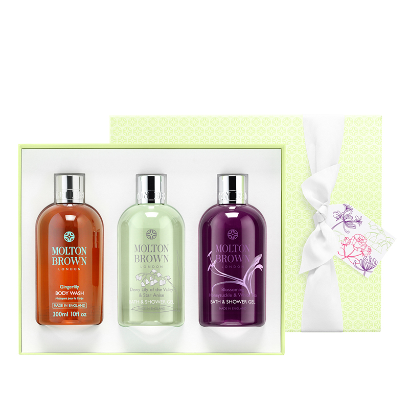 MOLTON BROWN TIMELESS FLORAL BATHING GIFT TRIO