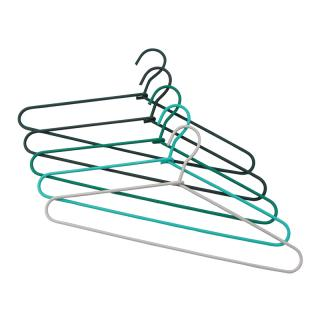 HAY CORD HANGER  FADE _ GREEN  SET OF FIVE