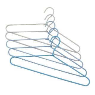 HAY CORD HANGER  FADE _ LIGHT BLUE  SET OF FIVE
