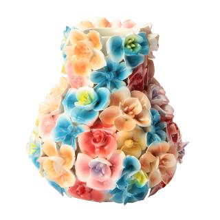 DES POTS FLORAL VASE COLORED XS