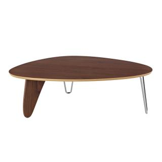 NOGUCHI RUDDER COFFEE TABLE WALNUT IN52 OU 47
