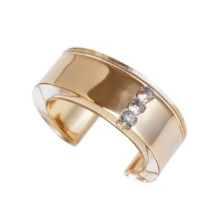 JUTIQU GLAM BANGLE 3 GOLD