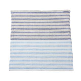 5 TREES LINEN BORDER GUEST TOWEL 34X35 BLUE LBBT-N