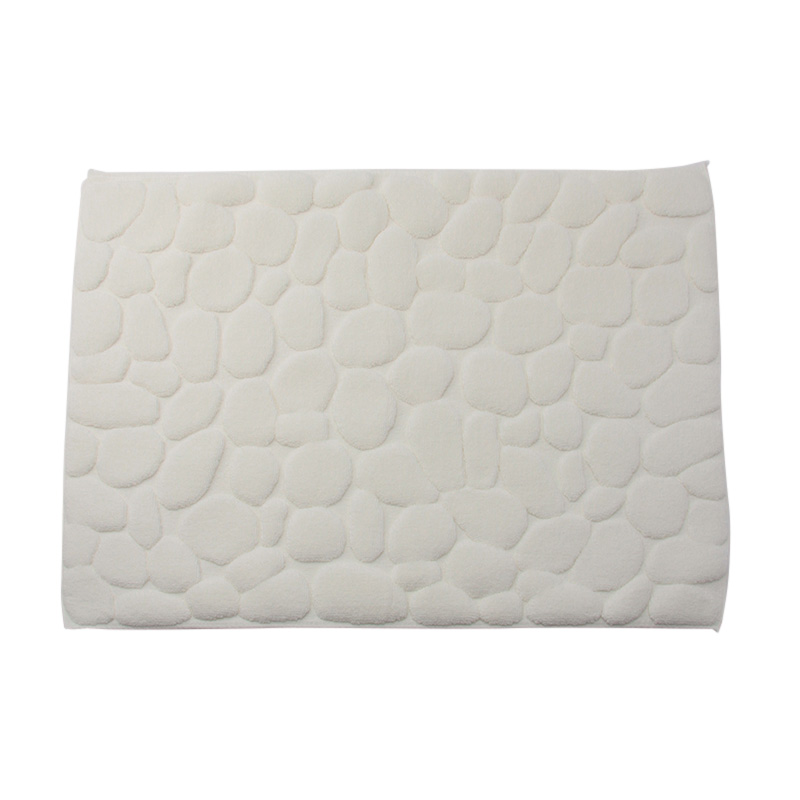 ISHIKORO BATHMAT WHITE