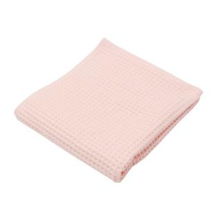 THE CONRAN SHOP ORIGINAL WAFFLE&GAUZE BATH TOWEL PALE PINK