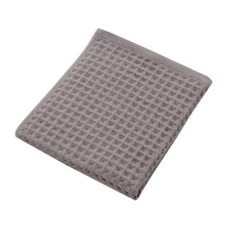 THE CONRAN SHOP ORIGINAL WAFFLE&GAUZE HAND TOWEL DARK GREY