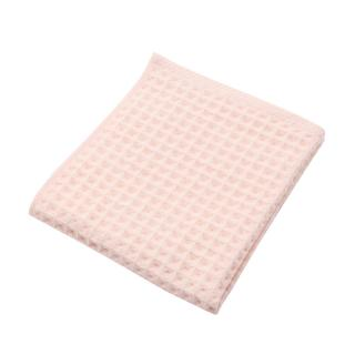 THE CONRAN SHOP ORIGINAL WAFFLE&GAUZE HAND TOWEL PALE PINK