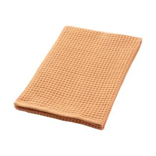 THE CONRAN SHOP ORIGINAL WAFFLE&GAUZE BATH TOWEL RUSTY PINK