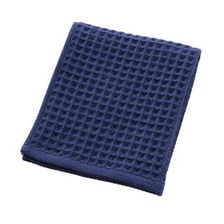 THE CONRAN SHOP ORIGINAL WAFFLE&GAUZE HAND TOWEL DEEP BLUE