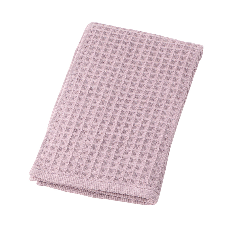 CONRAN WAFFLE&GAUZE FACE TOWEL 34X80 DUSTY LILAC