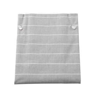 GREY STRIPE PILLOW CASE