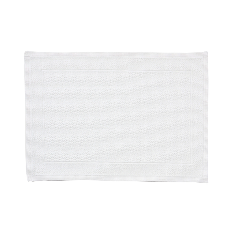 ORIGINAL PLAIN BATH MAT 70×50CM WHITE