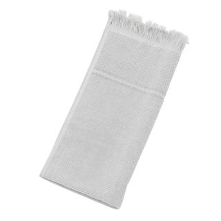 DEVILLA SPA FACE TOWEL GREY