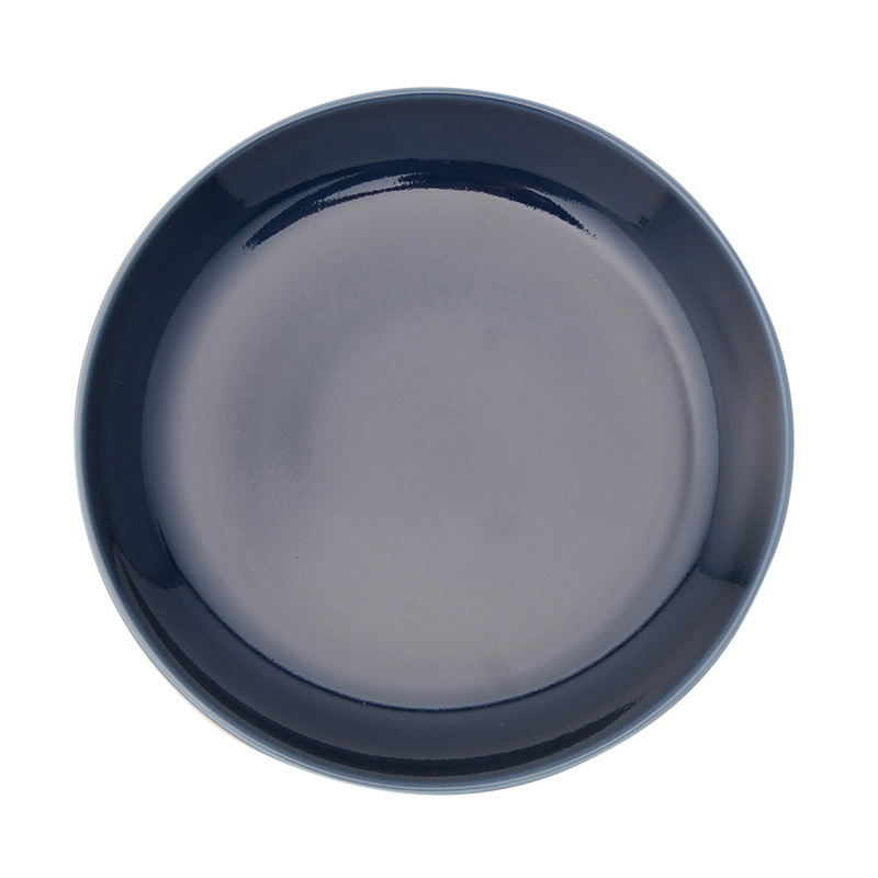 COMMON PLATE 18CM NAVY 13209