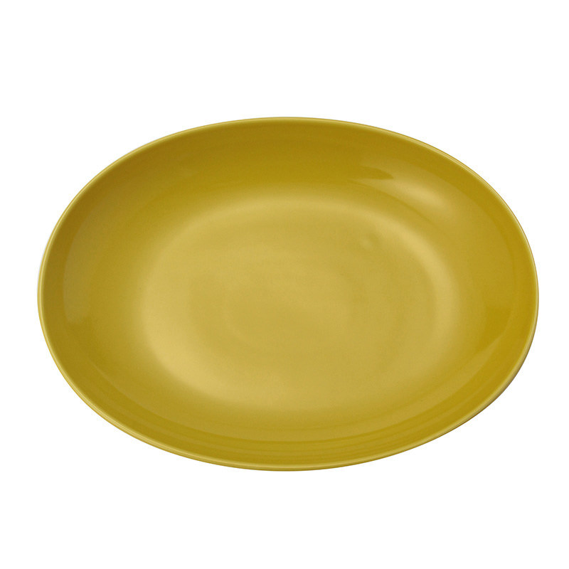 COMMON OVAL BOWL YELLOW