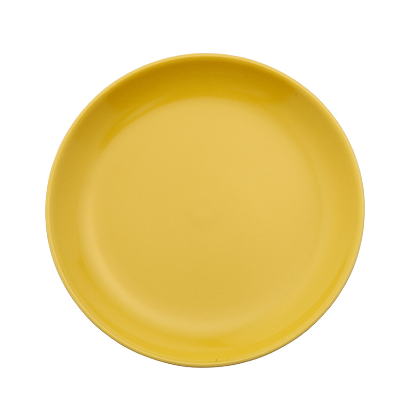 13208 COMMON PLATE 18CM YELLOW
