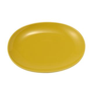 17046 COMMON OVAL 22CM YELLOW