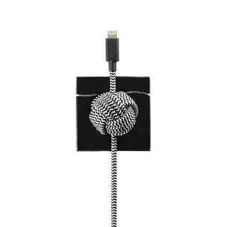 NATIVE UNION MARBLE NIGHT CABLE BLACK