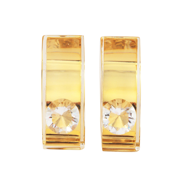 JUTIQU GLAM EARRING 1 GOLD