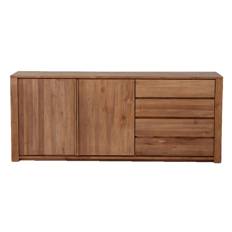 ETHNICRAFT TEAK LODGE SIDEBOARD 2 DOORS / 3 DRAWERS