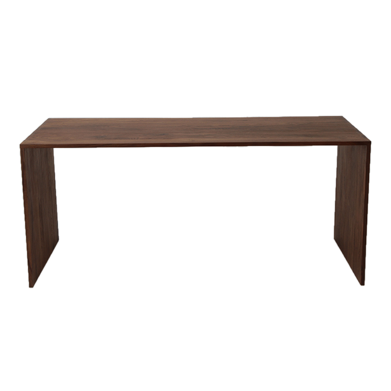 ETHNICRAFT WALNUT OFFICE U TABLE