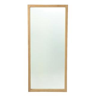 ETHNICRAFT OAK LIGHT FRAME MIRROR  2000