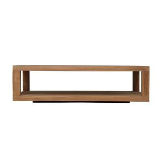 TEAK DUPLEX COFFEE TABLE 130/80/37