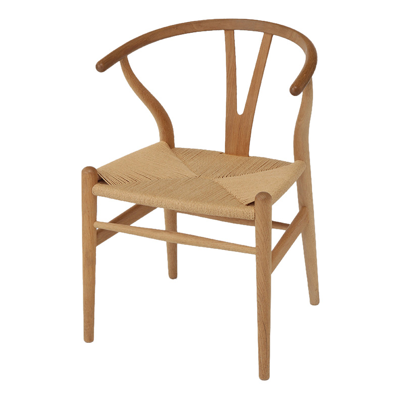 CH24 Y CHAIR OAK SOAP FINISH /NAT PAPER CORD