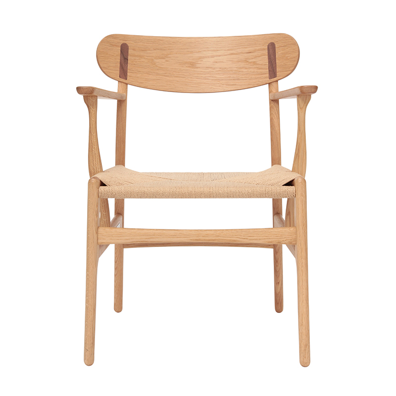 CH26 OAK/OAK/WALNUT OIL NAT SEAT
